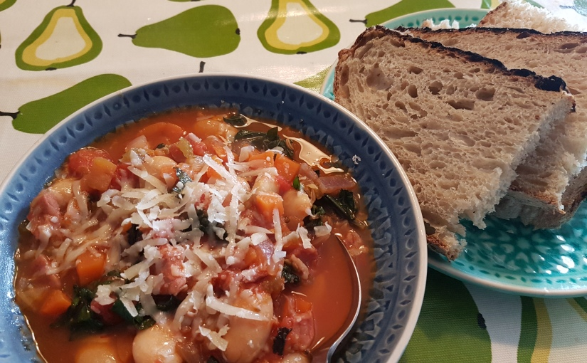 No Apologies for Starting withSoup